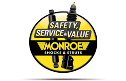 Monroe® Safety, Service, & Value